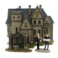 Department 56 House WAYNE MANOR SET OF 3 Porcelain Batman DC Comics 6002318