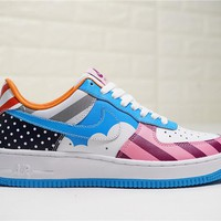 Parra x Nike Custom Air Force 1 Low White Muti Color AT3058-100