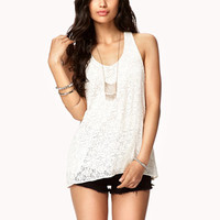 Crocheted Lace Top | FOREVER 21 - 2045736630