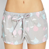 Hot Air Balloon Sleep Shorts