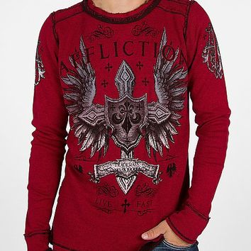 Affliction Simulation Reversible Thermal Shirt