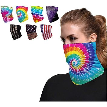 Seamless Face Cover Mouth Mask Scarf