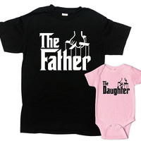 Matching Father Daughter Shirts Daddy Daughter Gifts Dad And Daughter T Shirts Daddy And Me Outfits Fathers Day Gift Ideas - SA1071-1072