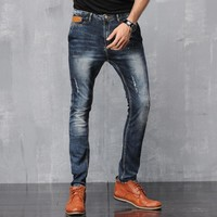 Men Stylish Slim Jeans [6528598339]