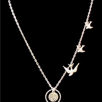 The Divergent Dauntless inspired tribute Silver Necklace 1