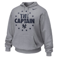 "Nike ""The Captain"" (MLB Yankees/Derek Jeter) Men's Hoodie (Grey)"