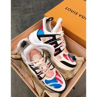 Louis Vuitton Lv Archlight Sneaker Rose Clair/ Colourful - Best Online Sale