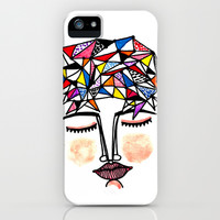 Join the Dots to Know Your Mind iPhone & iPod Case by Sreetama Ray