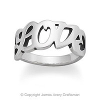 """""""Love"""" Ring from James Avery"""