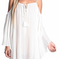Gracie Cold Shoulder Dress
