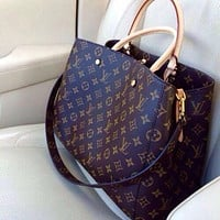 LV Louis Vuitton Shoulder Bag Female Inclined Shoulder Bag Messenger bag handbag