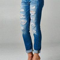Everyday Distressed Jeans