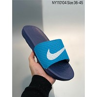 New NIKE Benassi Solarsoft cheap Men's and women's NIKE Slippers Beach shoes