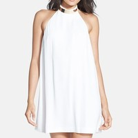 Keepsake the Label 'Reckless' Halter A-Line Dress