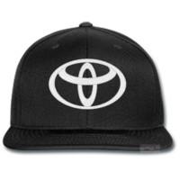 toyota EMBROIDERED beanie or SNAPBACK hat