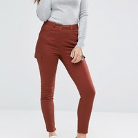 ASOS Utility Skinny Pants with Patch Pockets at asos.com
