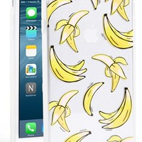 Sonix 'Clear That's Bananas' iPhone 6 Plus Case - Yellow