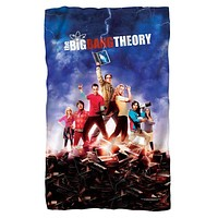 Big Bang Theory/Poster Fleece Blanket
