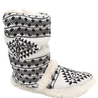 Black Poppy Tall Slouchy Sweater Boots at PacSun.com