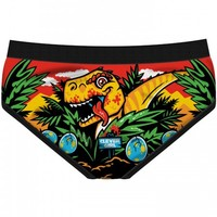 "WOMEN'S ""JURASSIC PERIOD"" PERIOD PANTIES BY HAREBRAINED!"