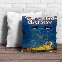 Great Gatsby Book Pillow | Aneend