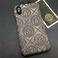 Perfect Versace Fashion iPhone Phone Cover Case For iphone 6 6s 6plus 6s-plus 7 7plus 8 8plus X