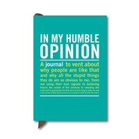 In My Humble Opinion Mini Inner-Truth Journal