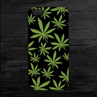 Superme Weed Pot Leaf Mobile Phone Case for Apple iPhone 5 5s 4 4s 5c 6 6s plus