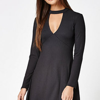 Kendall & Kylie Cutout Front Mock Neck Dress at PacSun.com