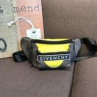 Givenchy Men's Canvas Bag Bumbag Wave Waist Pack Cross Body Bag