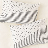 Allyson Johnson For Deny Opposites Attract Pillowcase Set | Urban Outfitters