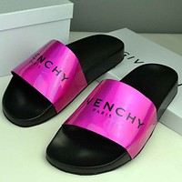Trendsetter Givenchy  Women Men Fashion Casual Slipper Shoes