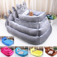 Cute Cartoon Kennel Teddy Poodle Samoyed Four Seasons Warm Pet Kennel Dog Bed Cat Kennel