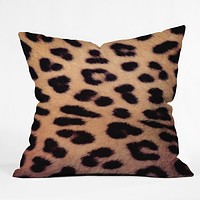 Ballack Art House Leopard 1986 Throw Pillow