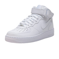 NIKE SPORTSWEAR AIR FORCE ONE MID SNEAKER - White | Jimmy Jazz - 315123