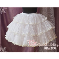 [$65.00]Tiered Pleated Ball Gown Petticoat - by Magic Tea Party