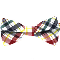 Tok Tok Designs Pre-Tied Bow Tie for Men & Teenagers (B331, 100% Cotton)