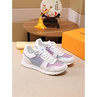 lv louis vuitton womans mens 2020 new fashion casual shoes sneaker sport running shoes 171
