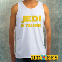 Jedi in Training Cool Star Wars Clothing Tank Top For Mens