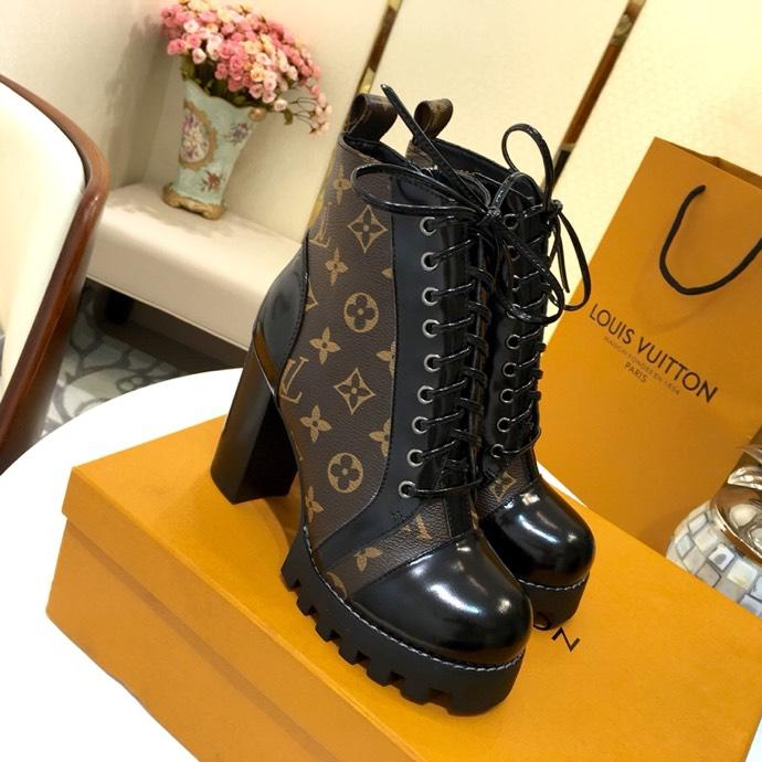 Image of Louis Vuitton LV Star Trail Ankle Boot