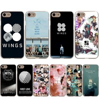 BTS Bangtan Boys Taehyung RUN Cover Case For Apple iPhone X 8 7 6 6S Plus 5 5S