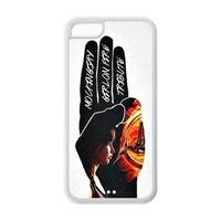 Custom Your Own Unique Movie The Hunger Games iPhone 5C Cover Snap on Hunger Games iPhone 5C Case