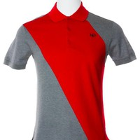Givenchy Mens Red 100% Cotton Polo Shirt