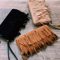 Living on the Fringe Wallet - Black