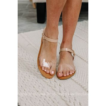 Clear As Crystal Waterfront Sandals