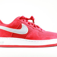 Nike Men's Air Force 1 Low Suede Gym Red