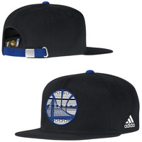 Golden State Warriors adidas Team Nation Adjustable Hat – Black