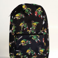 Legend of Zelda - Toon Link Windwaker School Backpack