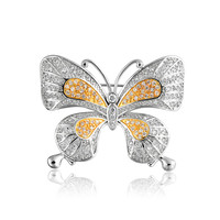 Bling Jewelry Gold Flutter Pin