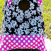 Car Seat canopy, Car Seat Cover by Angelivy Designs